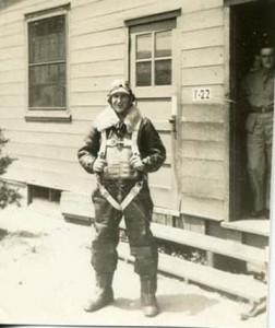 Raymond Everett Bence Jr. in flight suit