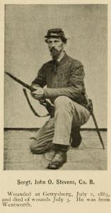 Sergt. John O. Stevens, Co. B